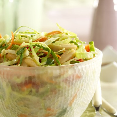 Gingered Asian Coleslaw