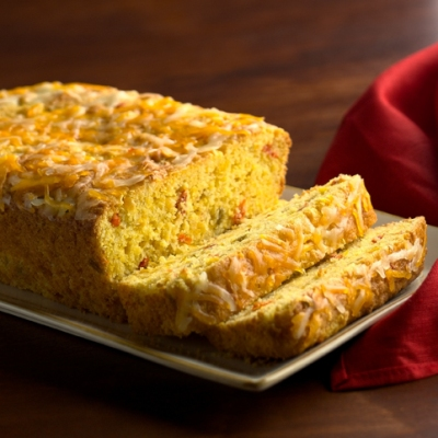 Chile Cheese Cornbread Recipe
