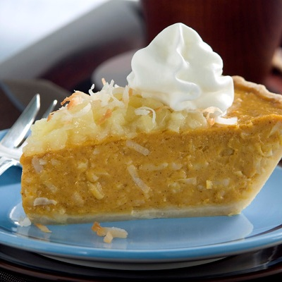 Tropical Pumpkin Pie Recipe