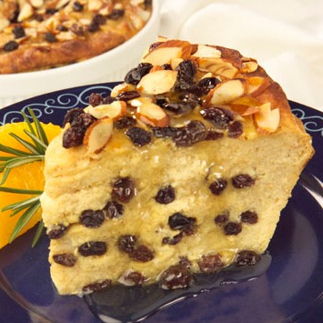 Greek Islands Bread Pudding