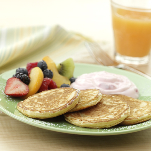 Silver Dollar Pancakes Recipe