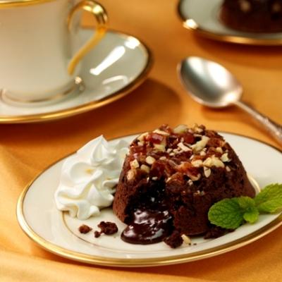 Bittersweet Chocolate Lava Cakes Recipe