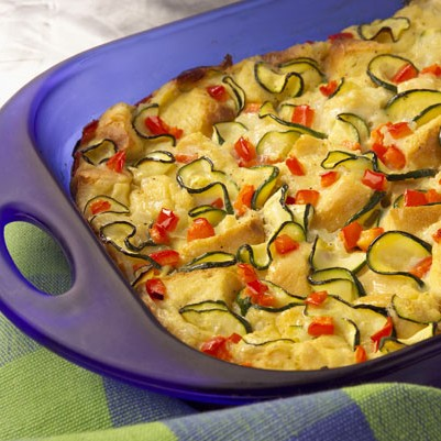 Summer Vegetable Strata Recipe