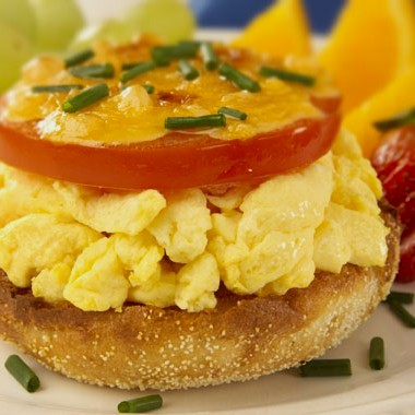 Open-Faced Egg Muffins