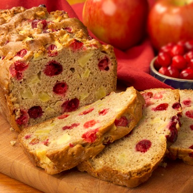 Cranberry-Apple Bread
