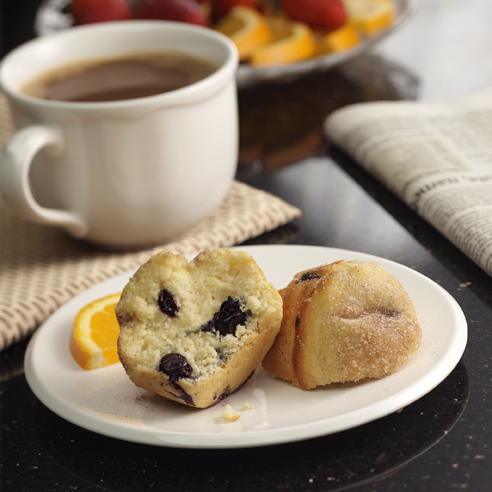 Cinnamon-Blueberry Muffins