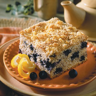 Blueberry-Lemon Coffee Cake Recipe