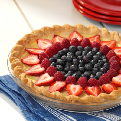 Fresh Fruit Custard Tart Recipe