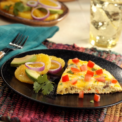 Egg Beaters Recipes: Huevos Rancheros Frittata - Egg Beaters