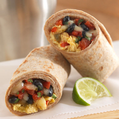 Southwestern Breakfast Burritos
