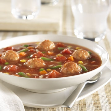 Dad's Meatball Soup Recipe