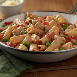 Creamy Chicken Pasta Skillet Recipe