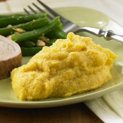 Creamy Polenta with Garlic Recipe