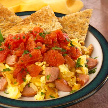 Heart Healthy Breakfast Scramble Recipe