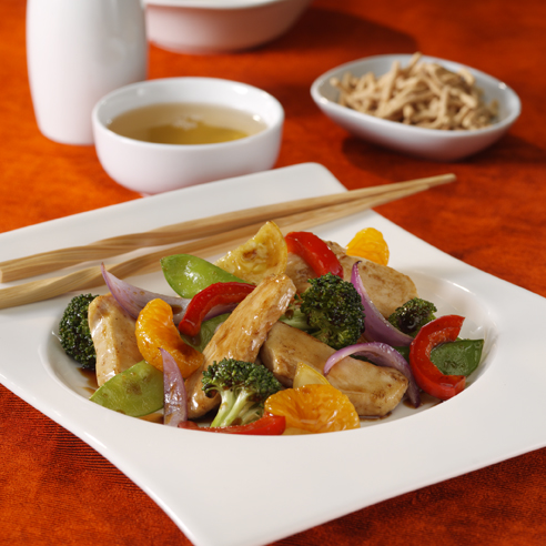 Mandarin Chicken Stir Fry
