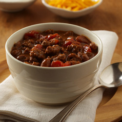 Beefy Chili Skillet Recipe
