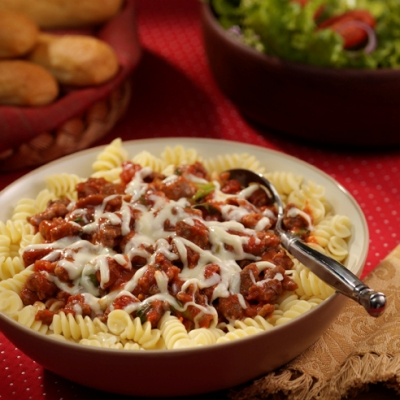 Sausage and Tomato Rotini Recipe