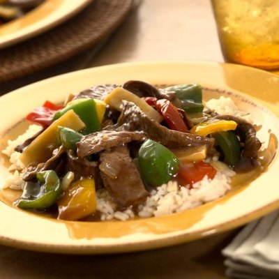 Pepper Beef Stir-Fry