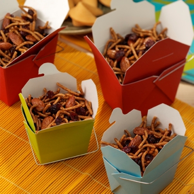 Sweet and Crunchy Party Mix
