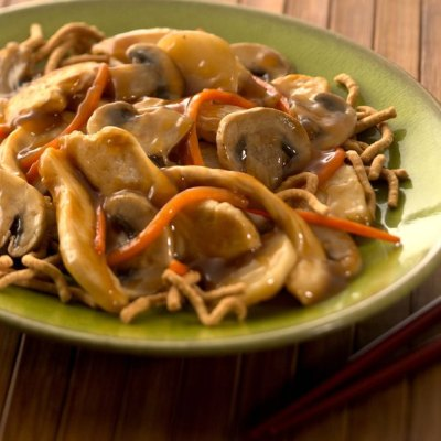 Teriyaki Chicken and Mushrooms