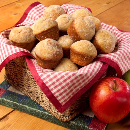 Chunky Apple Mini Muffins