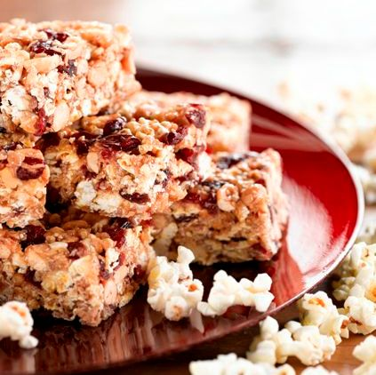 Popcorn Bar Recipes Chewy Popcorn Bars