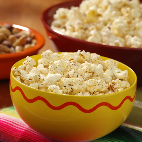 Chili-Spiced Popcorn Recipe