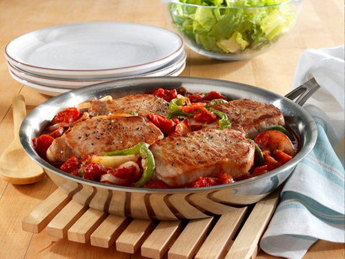 Recipes seared pork chops