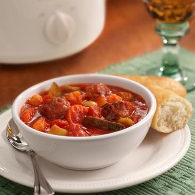 Savory Italian Sausage Stew