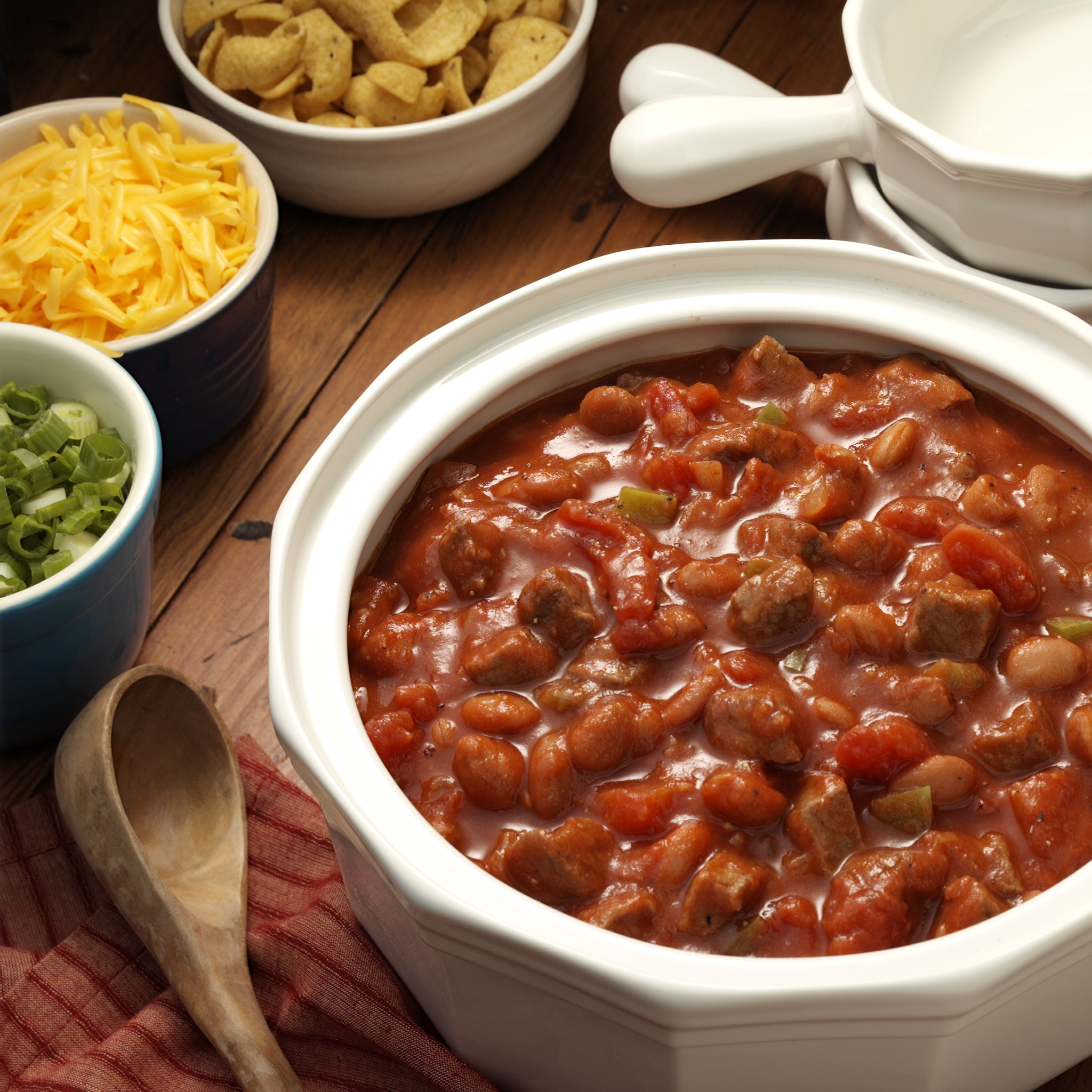 Beefy Cowboy Chili - Recipe | ReadySetEat