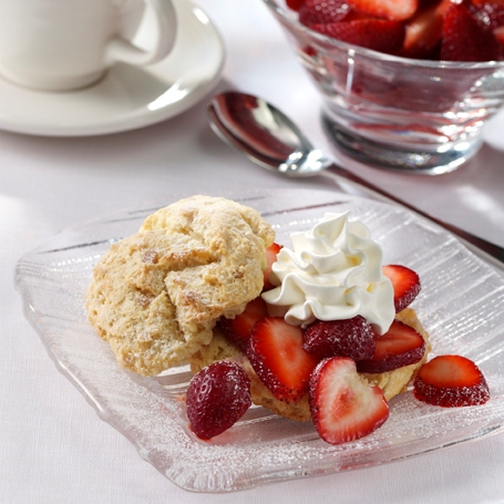 Gingered Fresh Strawberry Shortcake Recipe