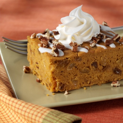 Egg Beaters Recipes: Iced Pumpkin Spice Cake - Egg Beaters