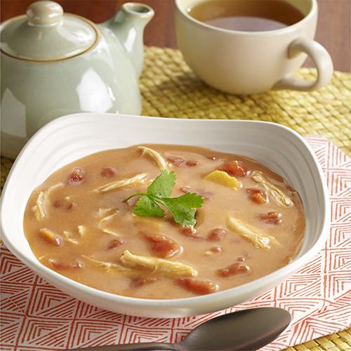 Thai-Style Coconut Chicken Soup Recipe