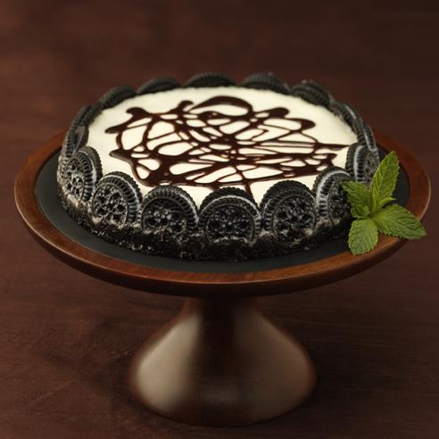 ... chocolate flavored cheesecake with chocolate cookie crumb crust 30