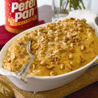 Peanut-Crunch Sweet Potato Casserole