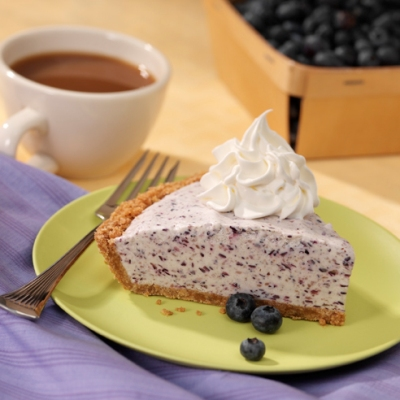 Blueberry-Vanilla Ice Cream Pie Recipe
