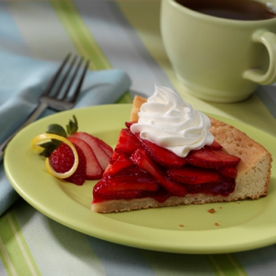 Fresh Strawberry Tart Recipe