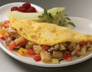 Roasted Vegetable Omelet