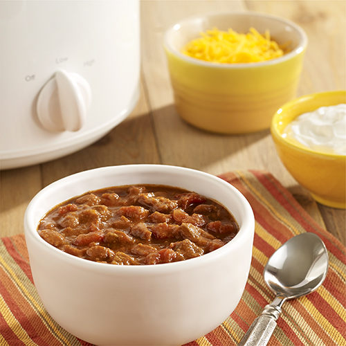 Spicy Beef and Bean Chili