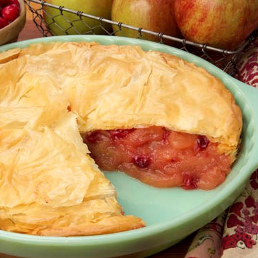 Apple-Cranberry Pie