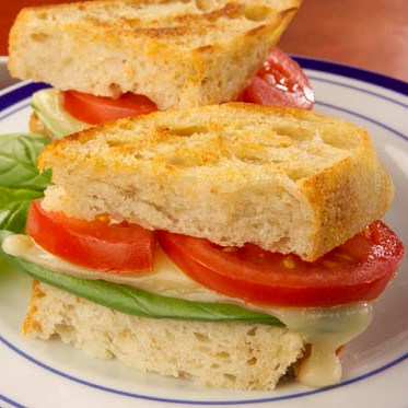 Grilled Cheese and Tomato Sandwiches Recipe