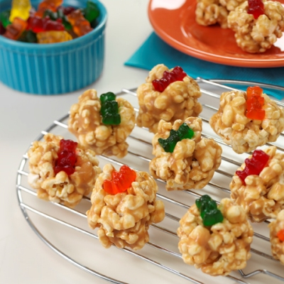 Peanut Butter Popcorn Poppers Recipe