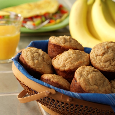 Banana Bran Muffins Recipe
