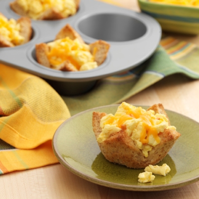 Ham and Cheese Egg Cups Recipe