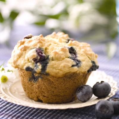 Blueberry Lemon Yogurt Muffins Recipe