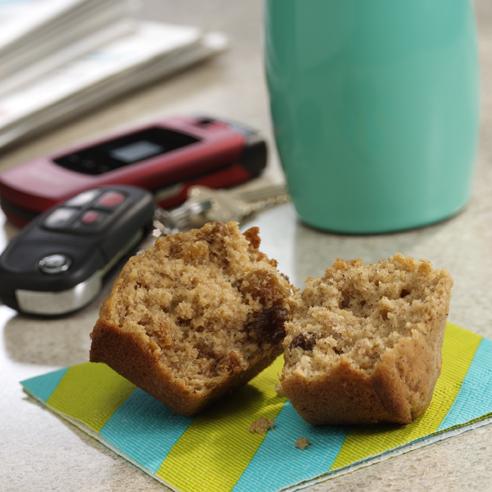 Oatmeal Raisin Muffins