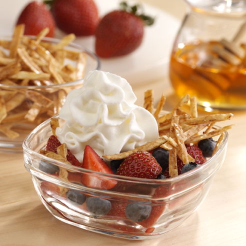 Upside-Down Fruit Nachos