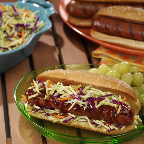 Southern-Style Grilled Franks