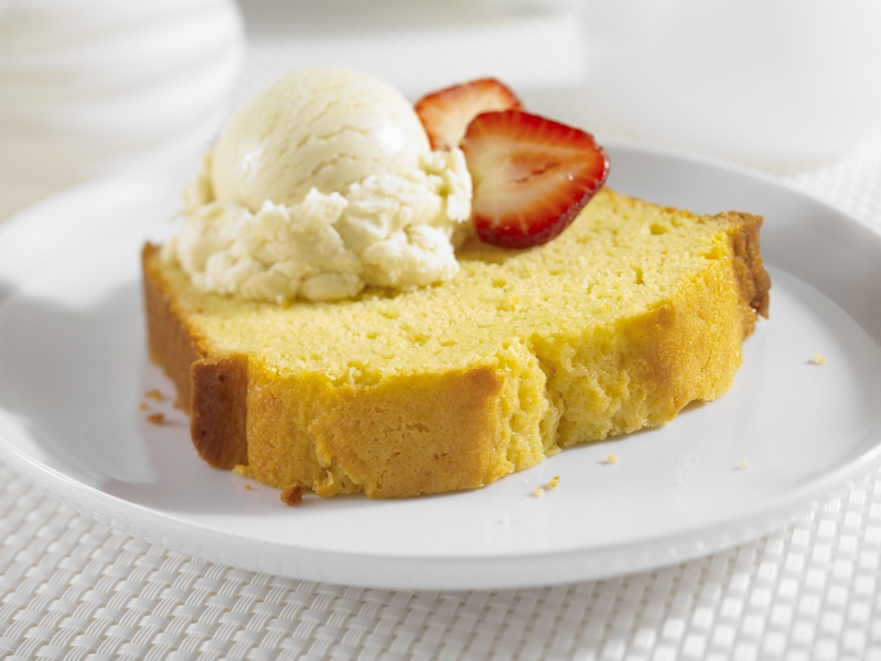 Strawberry 'Scented' Pound Cake Recipe