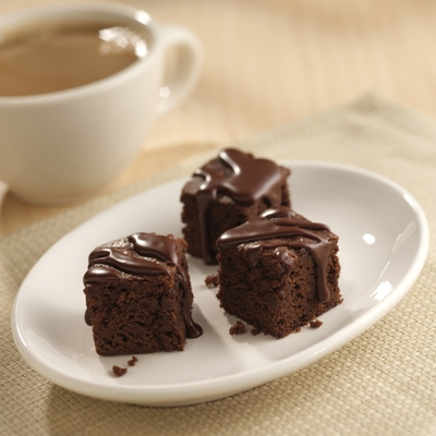 Mini Mocha Brownie Bites